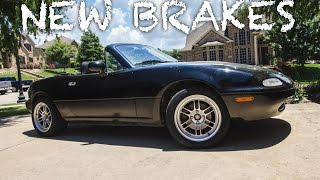 Installing New Brakes on Project Miata by Evan Shanks