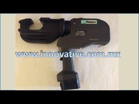 CT-2930/L Herramienta para Crimpear, Hidraulica, Electrica, 14 Toneladas, Panduit