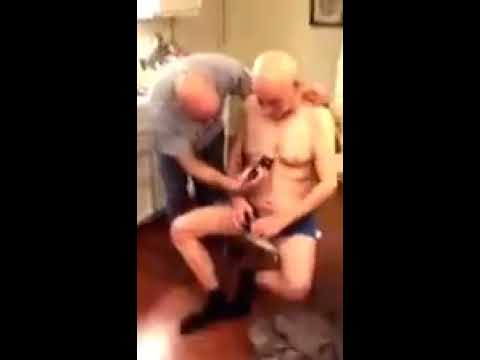 Drunk Grandpa Gets A Haircut! You Can't Stop Laughing!