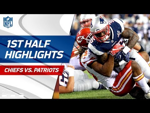 Chiefs vs. Patriots First-Half Highlights | NFL Week 1