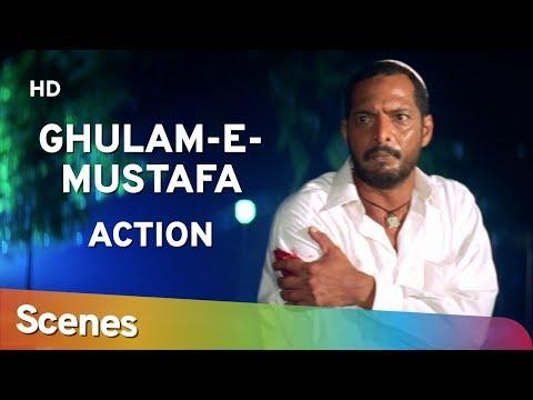 Action Scenes of Ghulam-E-Mustafa (HD)  Nana Patekar | Mohan Joshi | Mohnish Bahl - 90's Hit Movie