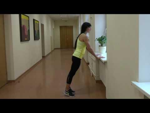 Kokius pratimus galima daryti mokyklos koridoriuje? Kaip sportavimui galime panaudoti palangę?