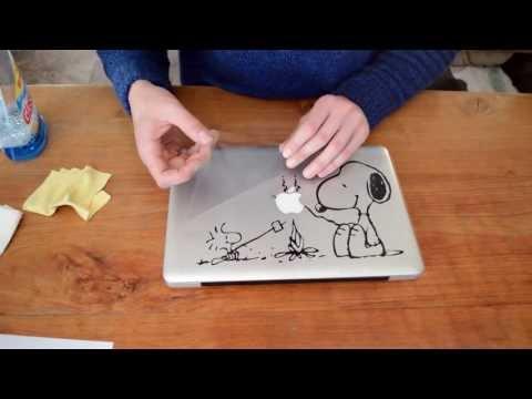 Macbook Pro Sticker Instructie