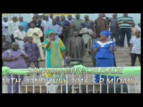 Senwele Jesu, Bisi Alawiye Aluko and Kenny Ologoara Ministering at Erio 2016 with Prophet Hezekiah