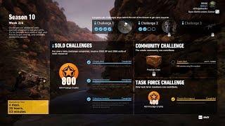 Season 10 Week 2 Solo Challenge 3 Completed - Ghost Recon Wildlands