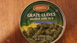 Mini Review ZERGUT Grape Leaves Stuffed With Rice