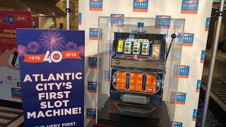 🔴 LIVE - Brian plays Atlantic City's FIRST Slot Machine & Live Play!