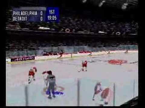 NHL Breakaway 98 - Nintendo 64 Gameplay Footage