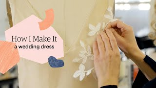 How To Make A Wedding Dress From Start To Finish | How I Make It | Etsy