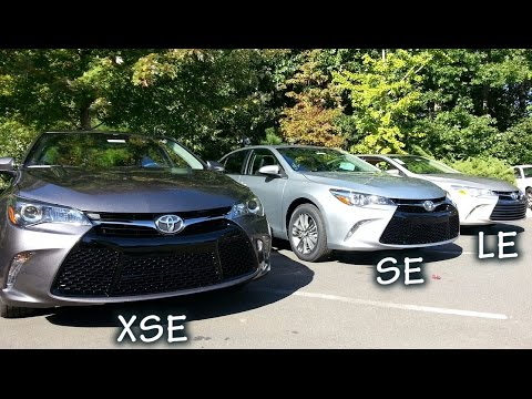 Comparing 2015 Camry Models
