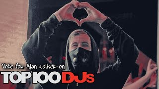 Vote Alan Walker on DJ Mag top 100 || Guys only 4 day left to vote || vote now