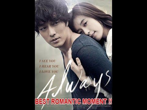BEST Romantic moment ALWAYS korean movie best romantic movie !!