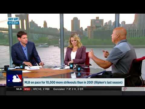 """Cal Ripken, Jr. Appears on ESPN's """"GET UP!"""""""