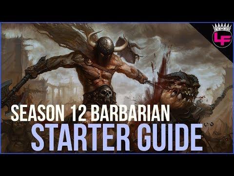 Season 12 Barbarian Starter Guide