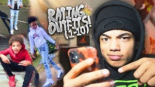 RATING SUBSCRIBERS BEST OUTFITS! 🔥 (STRAIGHT DRIP!)