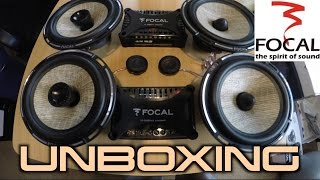 Focal PS-165fx & PC-165f Unboxing & Hands On Look