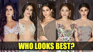 TOP 10 Dresses Of Bollywood Celebs At Manish Malhotras Show | New Haute Couture Collection 2018-19