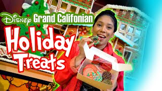 Holiday Treats At Disneys Grand California Hotel! Foodie Feature