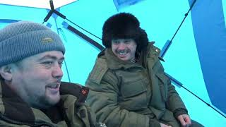 Зимняя рыбалка на томи в юрге