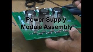SB200 Linear Amplifier -  Power Supply Module Assembly