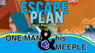 One Man and his Meeple plays Escape Plan - solo board game playthrough