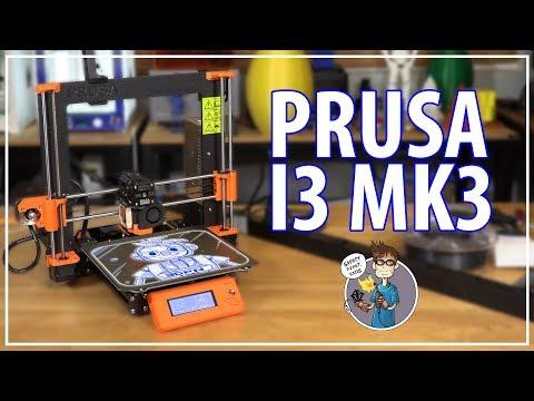 Original Prusa i3 mk3 3D Printer – Unboxing / 3D Printing / First Impressions