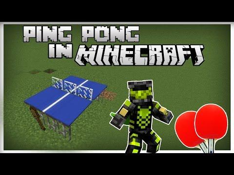 Ping Pong in Minecraft | Mă bate un sătean