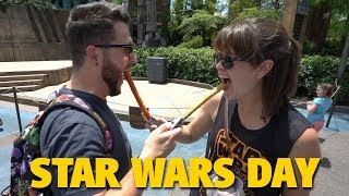 STAR WARS DAY - May The 4th Be With You! | Disney's Hollywood Studios