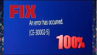 ps4 update 6-50 error ce-30002-5 - TH-Clip