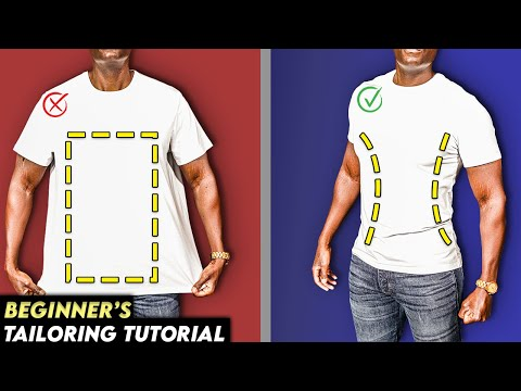 How To Make Your T-Shirt Slim Fit!