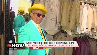 Grand reopening of Hot Sam's