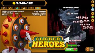 Level 1000 Clicker heroes, AutoClicker with Rubies - Самые