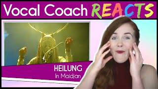 Vocal Coach reacts to Heilung | LIFA - In Maidjan LIVE