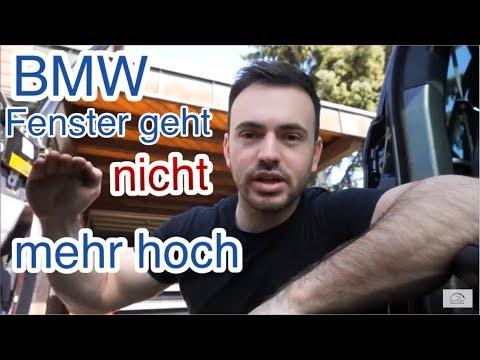 BMW Fenster geht nicht mehr hoch |Fensterheber vorne rechts defekt| BMW X5 broken power windows