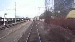 preview picture of video 'Führerstandsmitfahrt S-Bahn München (Siemenswerke - Mittersendling)'
