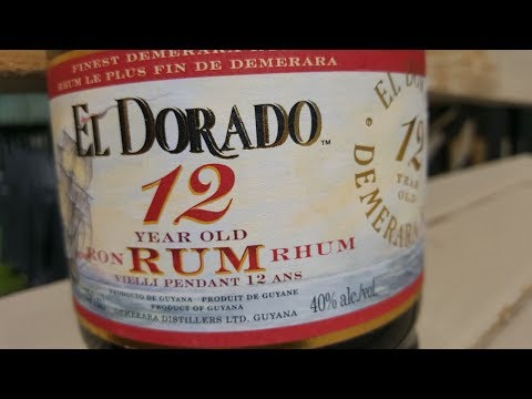 Rum Review: El Dorado 12 year old Rum