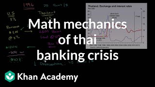 Math Mechanics of Thai Banking Crisis