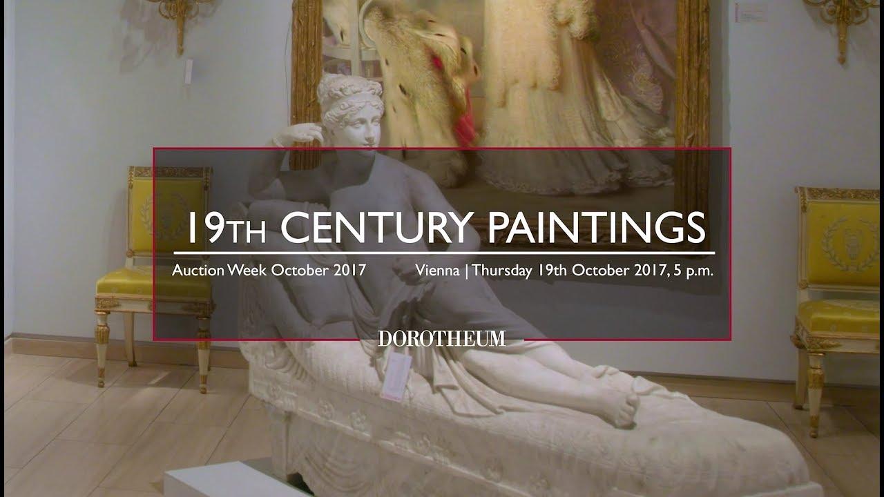 Vorschau Gemälde des 19. Jahrhunderts| Auktionswoche Oktober 2017