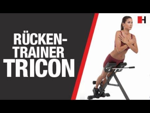 Rückentrainer für zuhause | Rückentrainer Tricon FINNLO by HAMMER