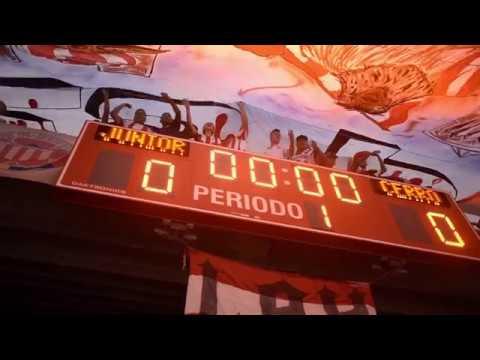 """Kuervos desde la tribuna - Junior Vs Cerro Porteño - Copa Suramericana"" Barra: La Banda de Los Kuervos • Club: Junior de Barranquilla"