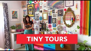A Rainbow-Inspired Miami Apartment | Tiny Tours | Apartment Therapy
