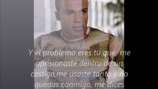 """Video thumbnail of """"EL PROBLEMA ERES TU ALEXANDRE PIRES LETRA"""""""