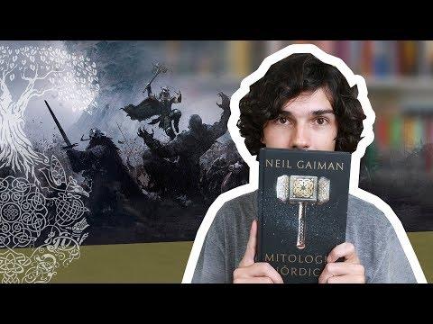 Livro A Mitologia Nórdica- Neil Gaiman
