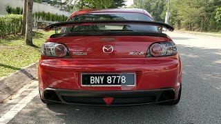 The Forgotten Brother, Mazda Rx8, With Aizul Johann |EvoMalaysia.com