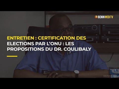 Entretien exclusif : Certification des élections par l'Onu : les recommandations du Dr Coulibaly