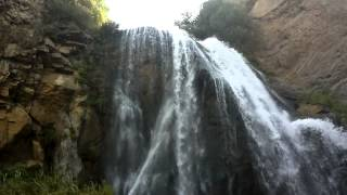 preview picture of video 'Trchkan waterfall in Armenia, Lori - Թռչկան ջրվեժը, Հայաստան, Լոռի'