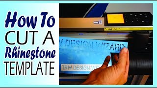 How to Make a Rhinestone Template with your Graphtec Vinyl Cutter