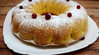 Кекс Нежный - простой пошаговый рецепт