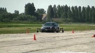 Skidcar Rear-Wheel Skid