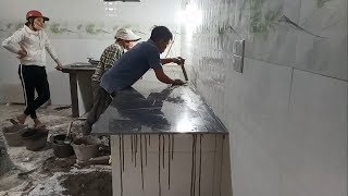 Granite Countertops - How To Install A New Granite Countertop - For Your New Kitchen